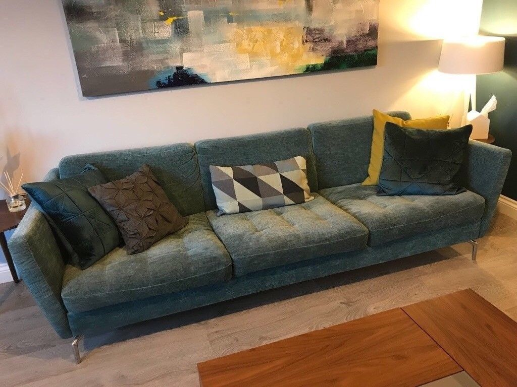 Big Sofa 290 Cm Boconcept Osaka Sofa 2 Armchairs For Sale Read Full