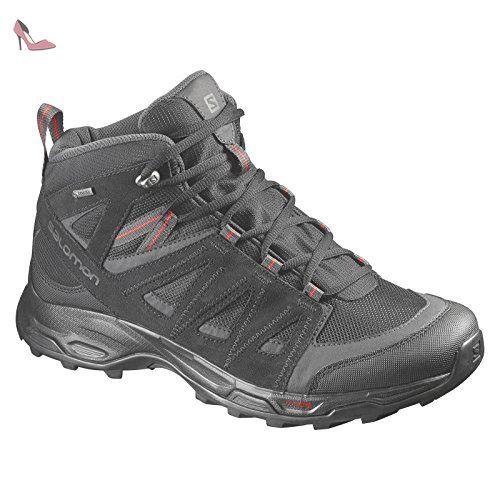 Raven De Chaussures Trekking Rock Gore Mid Homme Salomon Gtx Tex F1cTlKJ3