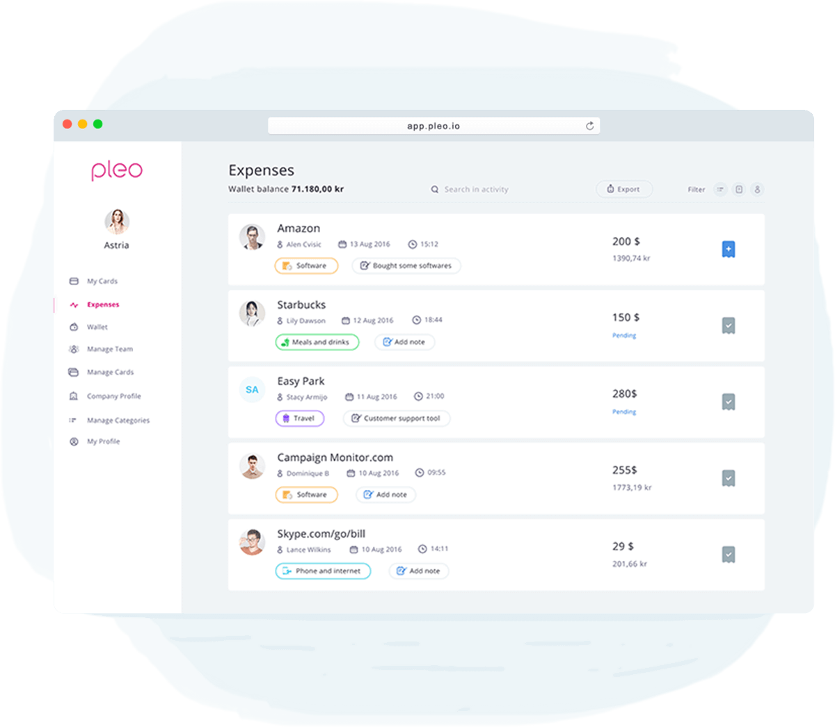 Pleo Decentralises Company Spending Eliminates Expense Reports