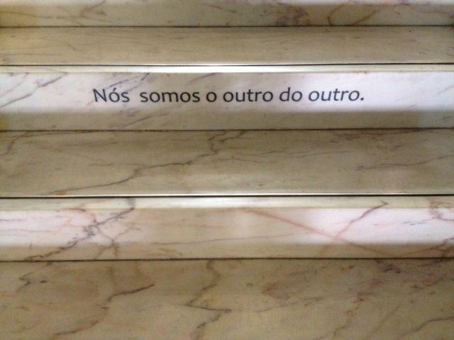 """""""Nós somos o outro do outro."""" José Saramago"""