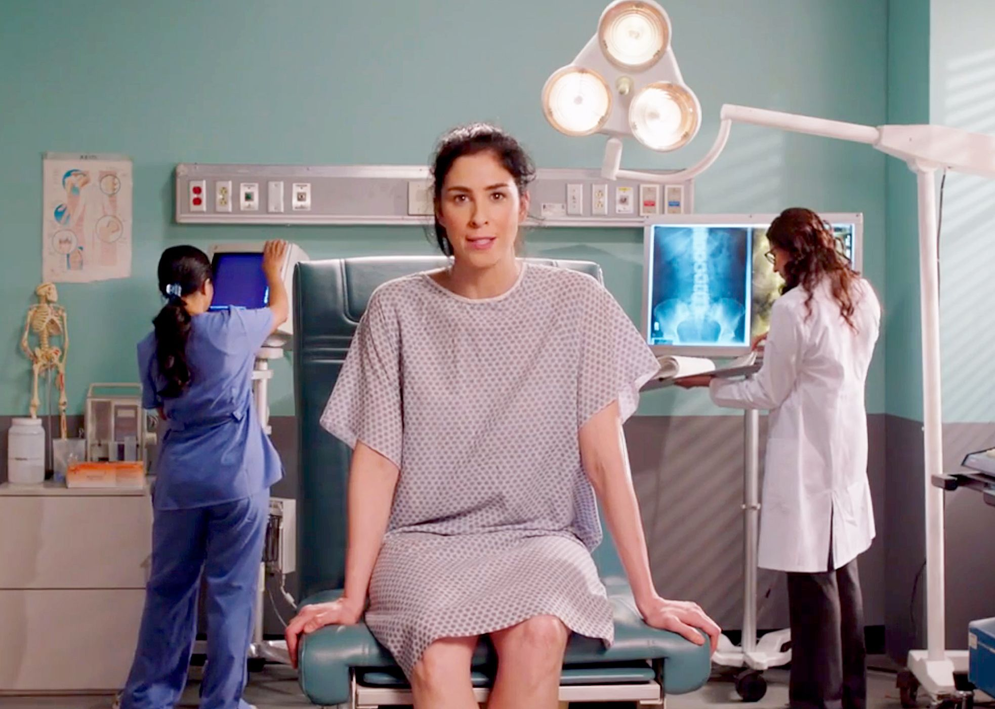 Sarah silverman gets gender reassignment to avoid vagina tax nsfw how feminist videos like silvermans addressing the pay gap trivialise the experiences of trans people ccuart Gallery
