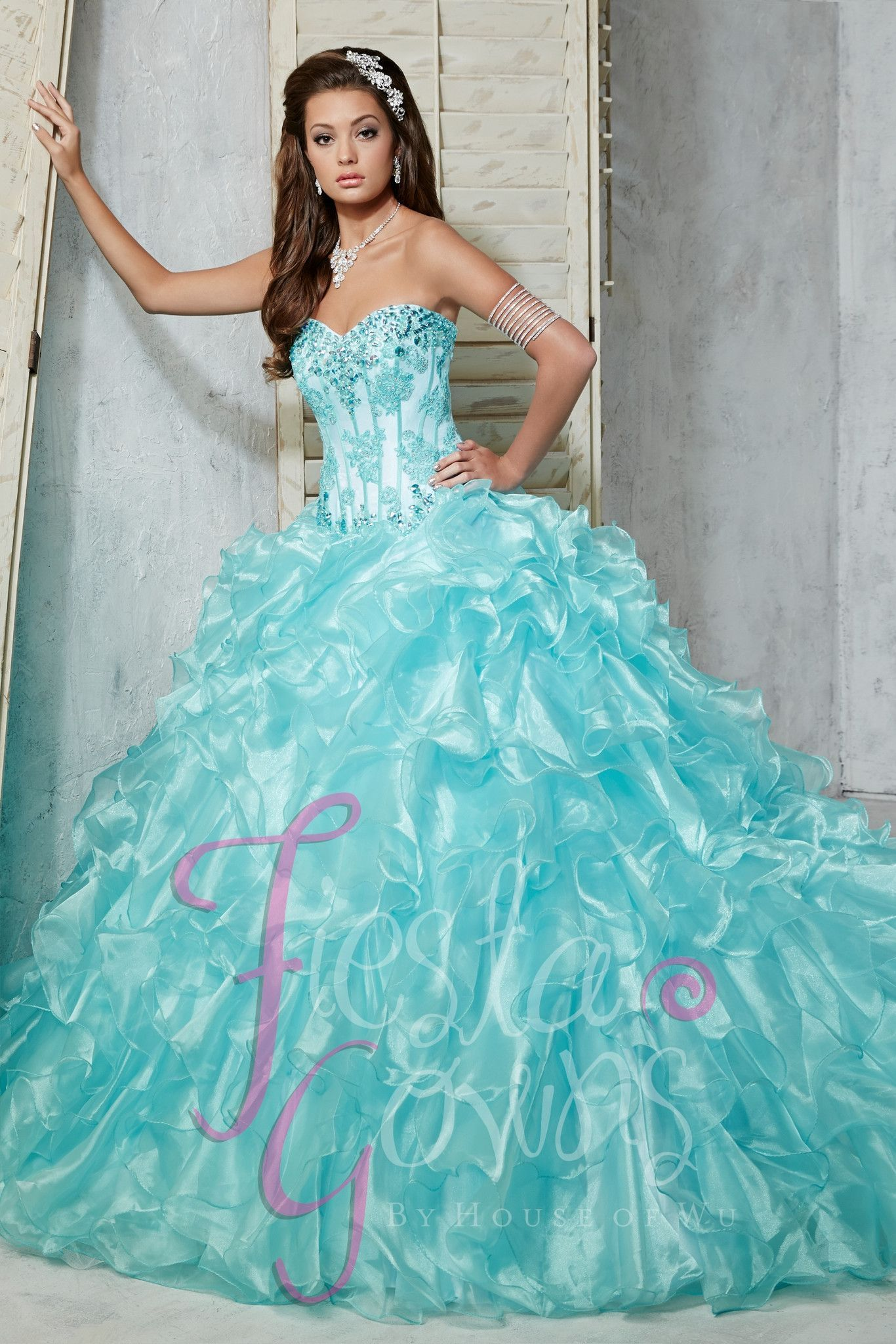 House of Wu Fiesta Gowns Quinceanera Dress Style 56273 | Quinceanera ...