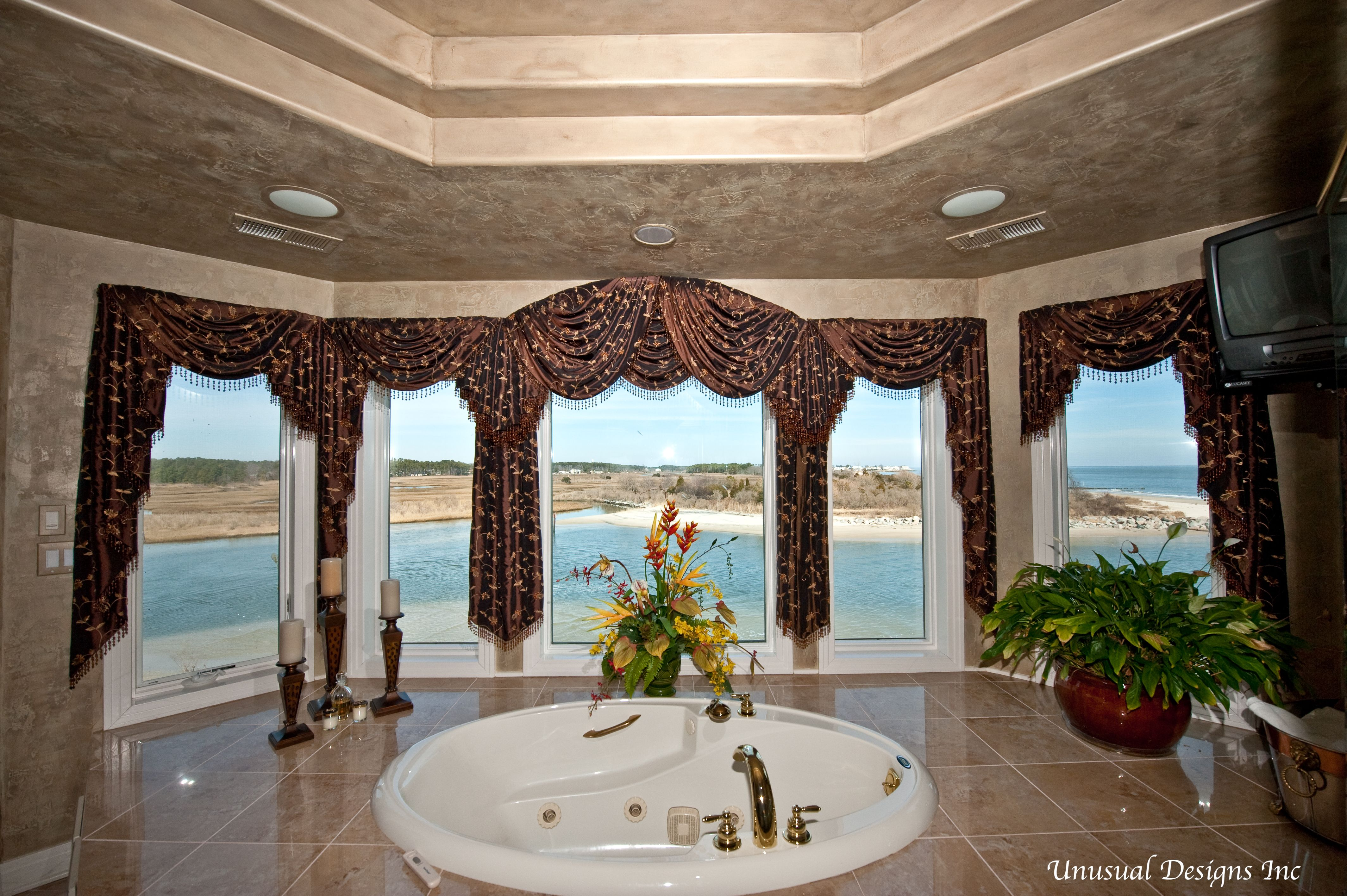 Arched Top Swags Amp Cascades Window Treatment