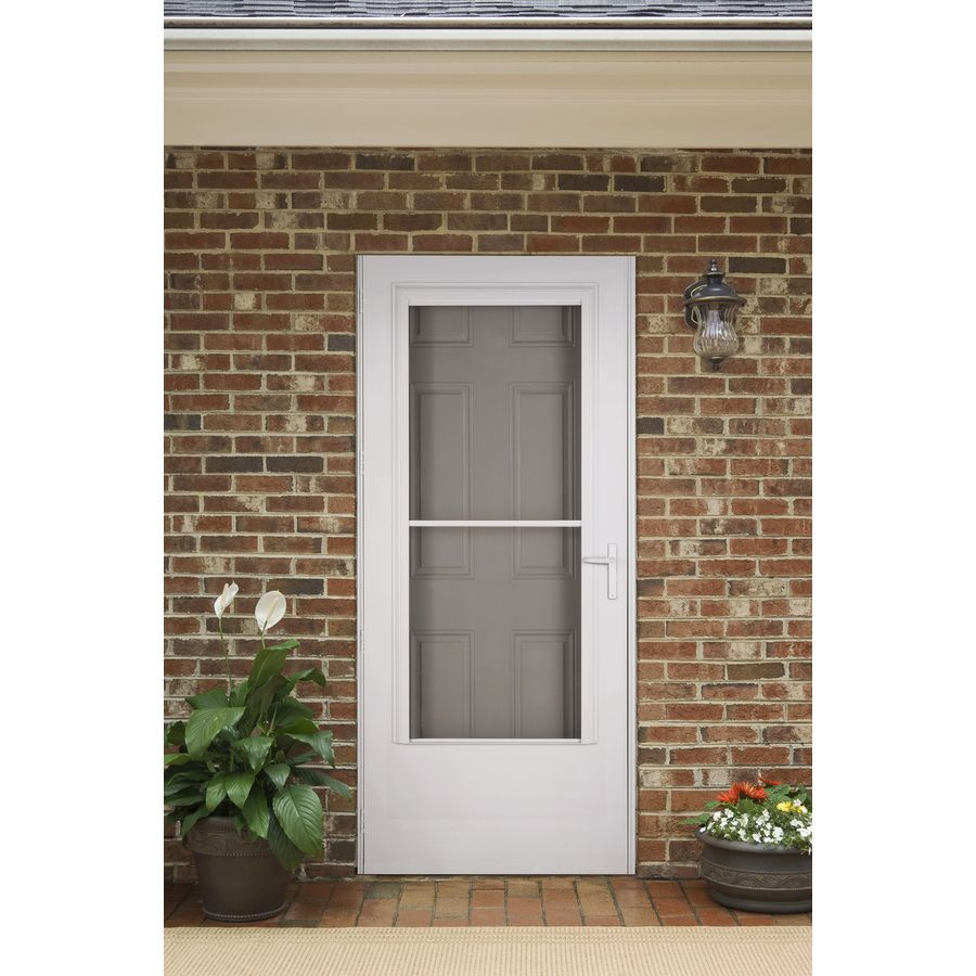 Not Sure What Color Storm Door To Add To Your Brick Home Go For A