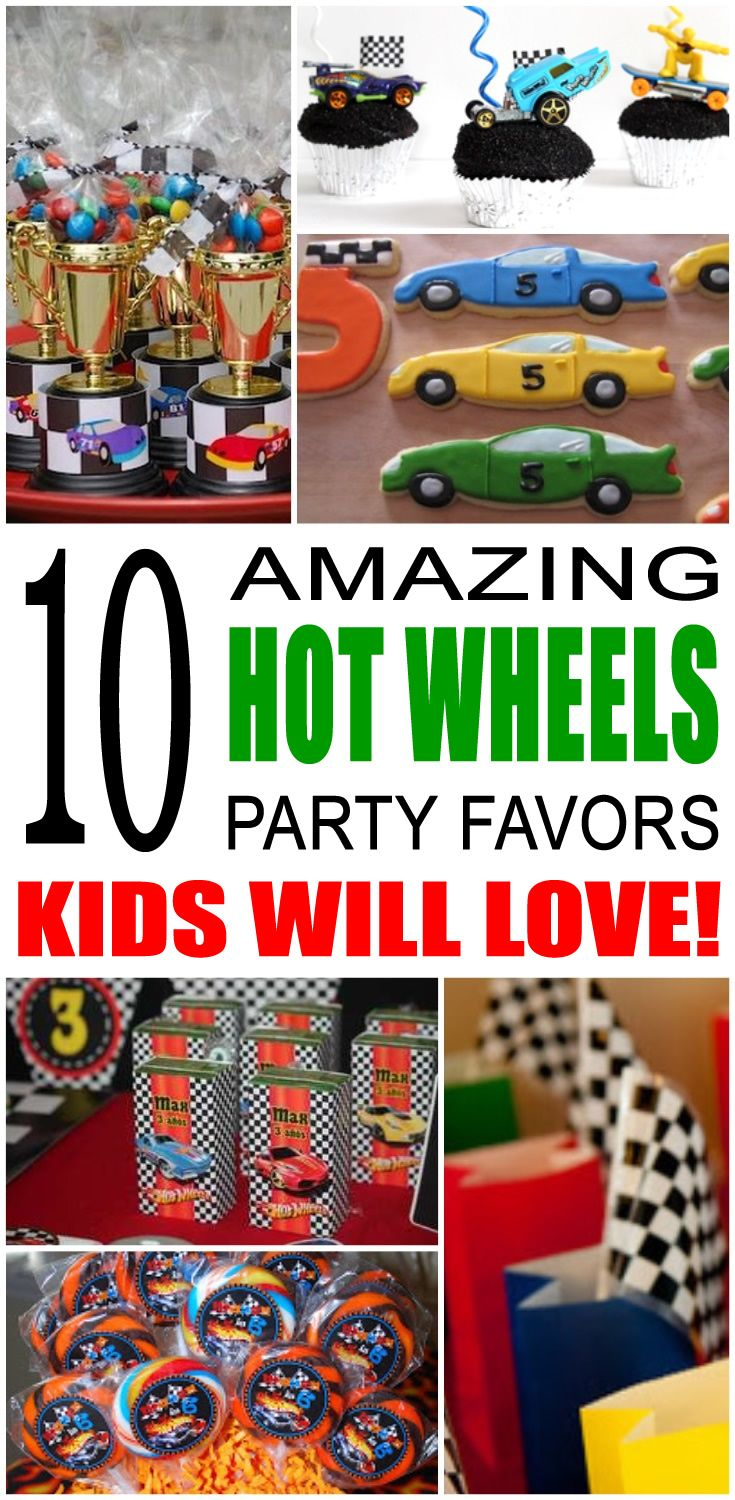 Hot Wheels Party Favor Ideas Hot Wheels Party Hot
