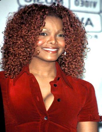 Janet Jackson Curly Black Hair Styles Bing Images