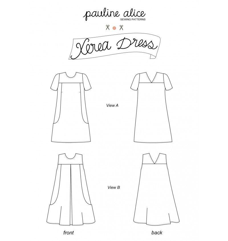 vestido Xerea   Layers   Pinterest   Vestidos, Costura y Patrones de ...