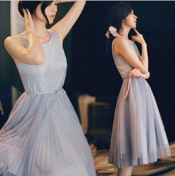 Gray Grey Bridesmaid Dress | $46 | eBay | wedding ceremony reception bridesmaids maid of honor silver