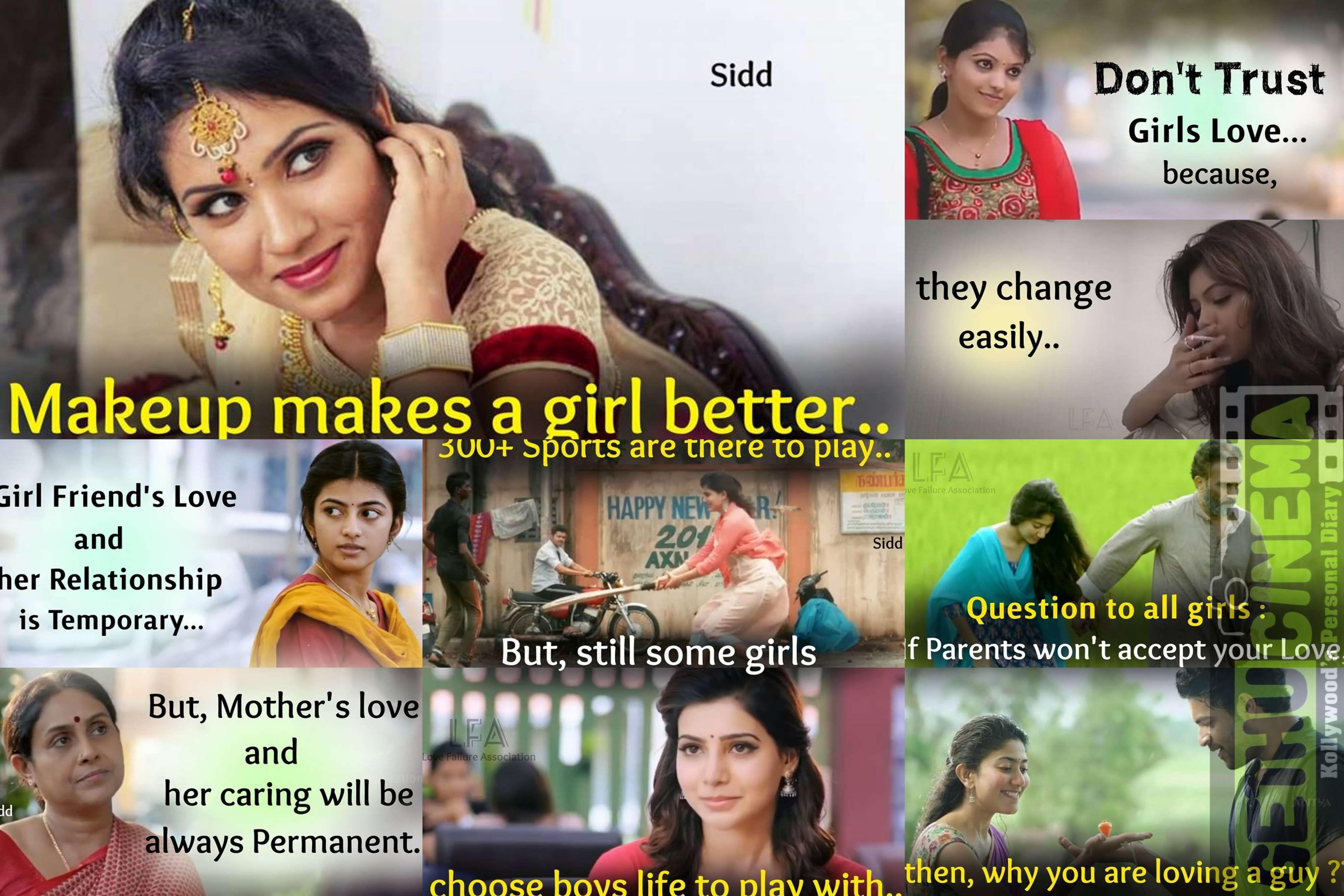 Love Failure Memes In Tamil 2018 Latest Cinema