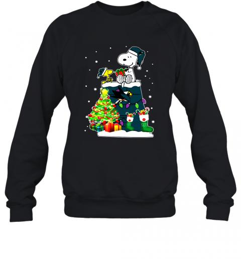 San Jose Sharks Snoopy Sweatshirt #Ateelove #Jose #San #Sharks #Snoopy #Sweatshirt
