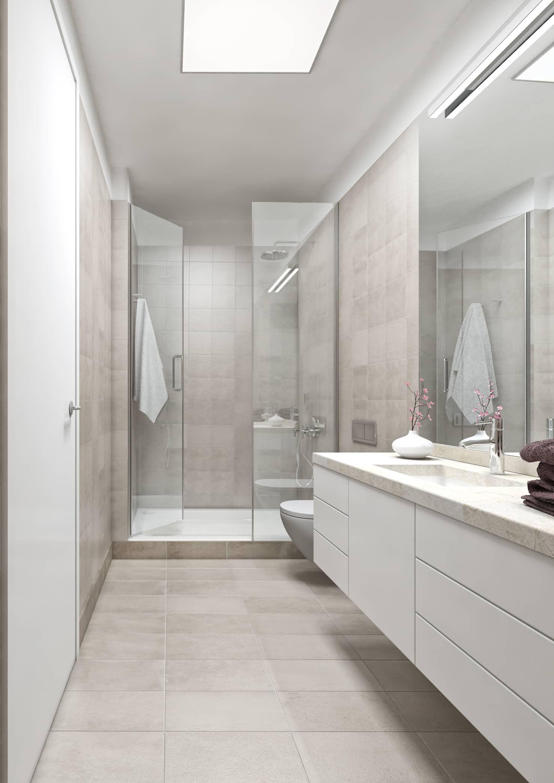 Boavista 62 Estoril Real Estate Casas De Banho Modernas Por Onstudio Lda Moderno Homify Bathroom Renovation Cost Small Bathroom Makeover Bathroom Design