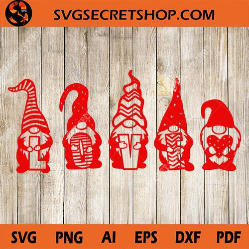 Download Gnome Love SVG, Gnome SVG, Gnome Valentine SVG, Valentine ...