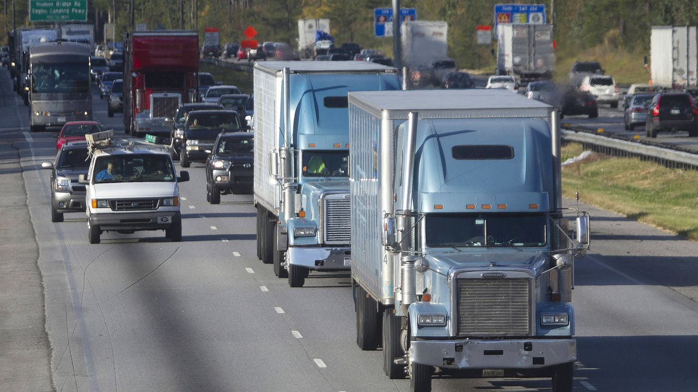 Facing a critical shortage of drivers the trucking