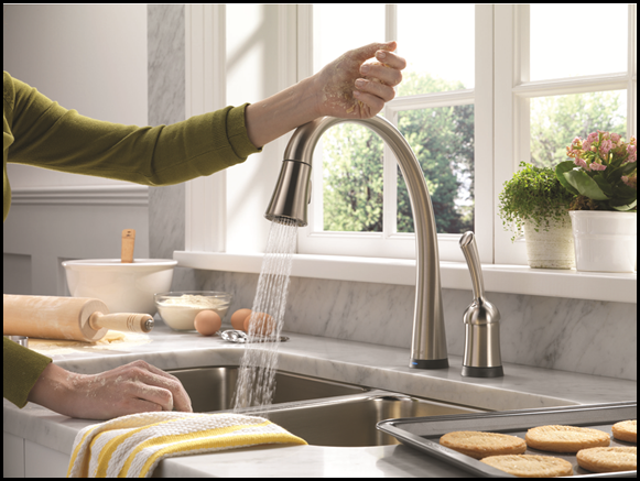Delta Faucets Pilar Touch20 Is An Easy To Operate Touch Faucet