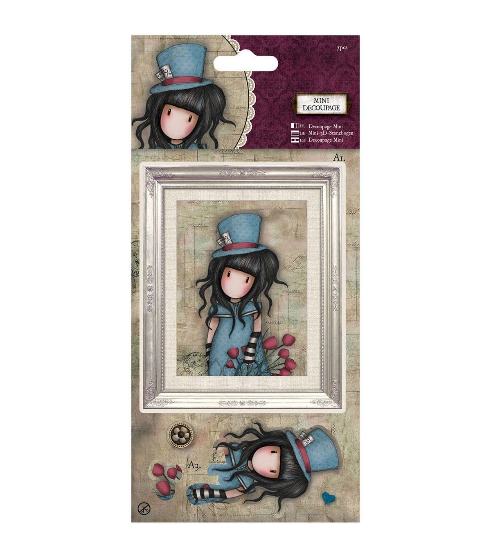 Gorjuss Santoro Mini Decoupage for cards and crafts