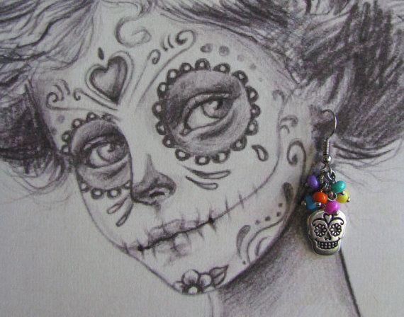 Day of the Dead Dia de Muertos or Cinco de by EarthlyTreasures2015