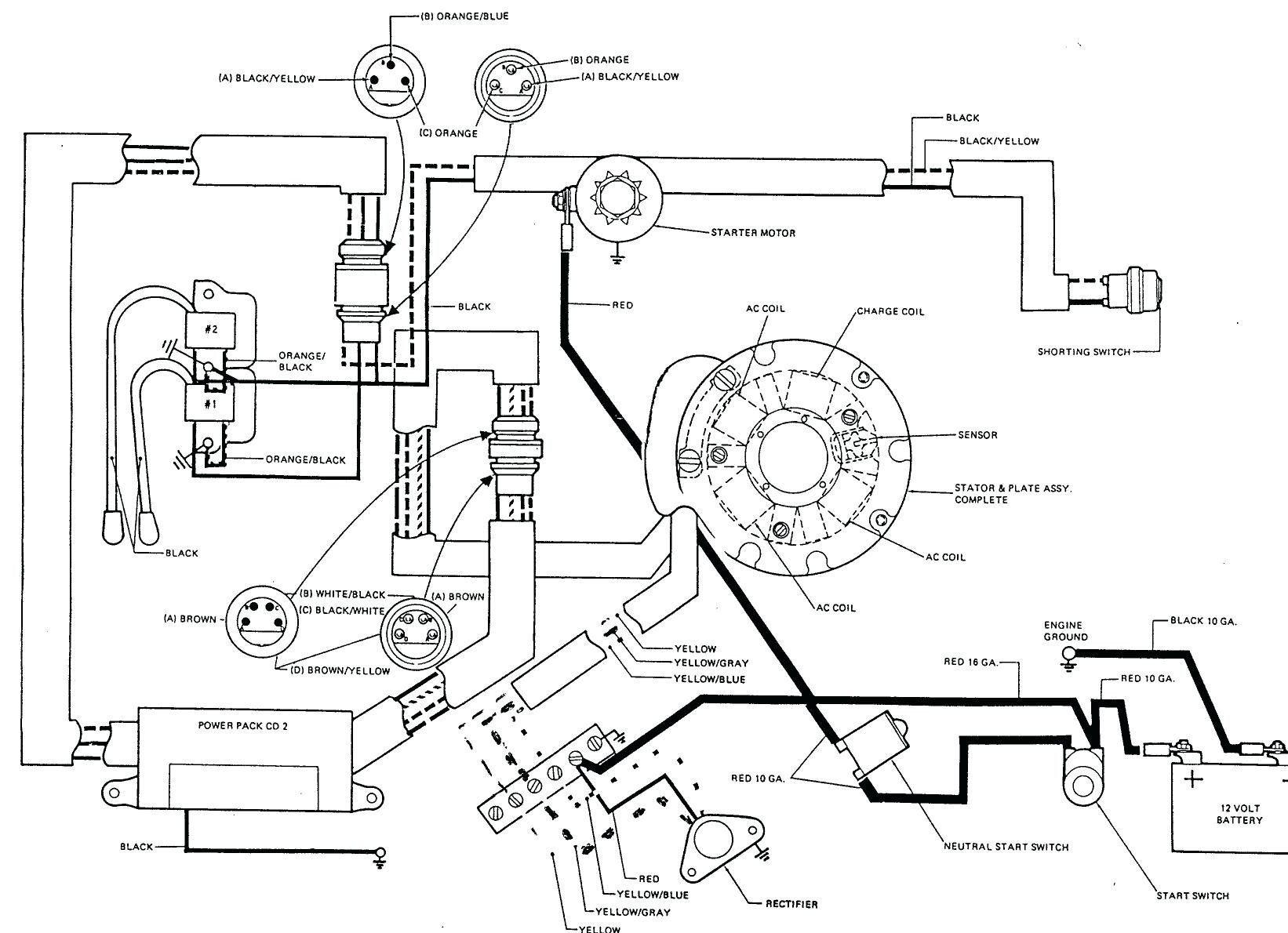 [DIAGRAM] Yamaha Outboard Electric Choke Wiring Diagram