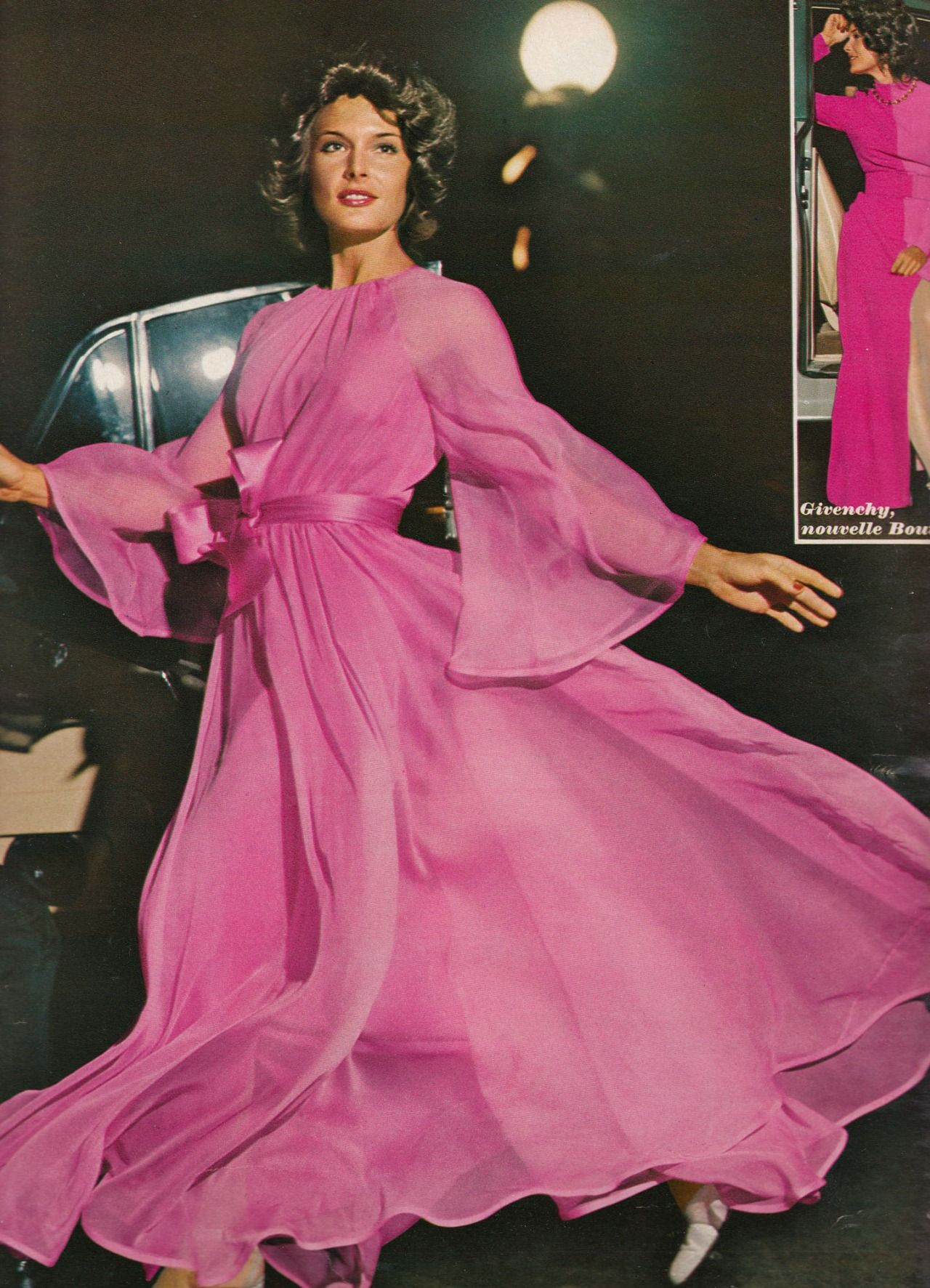 Jean Patou and Givenchy in the corner Elegance Magazine - 1972 ...
