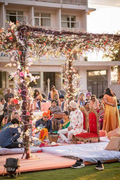 Photo From Wedding At Regenta LP Vilas #architkneeled - By ...