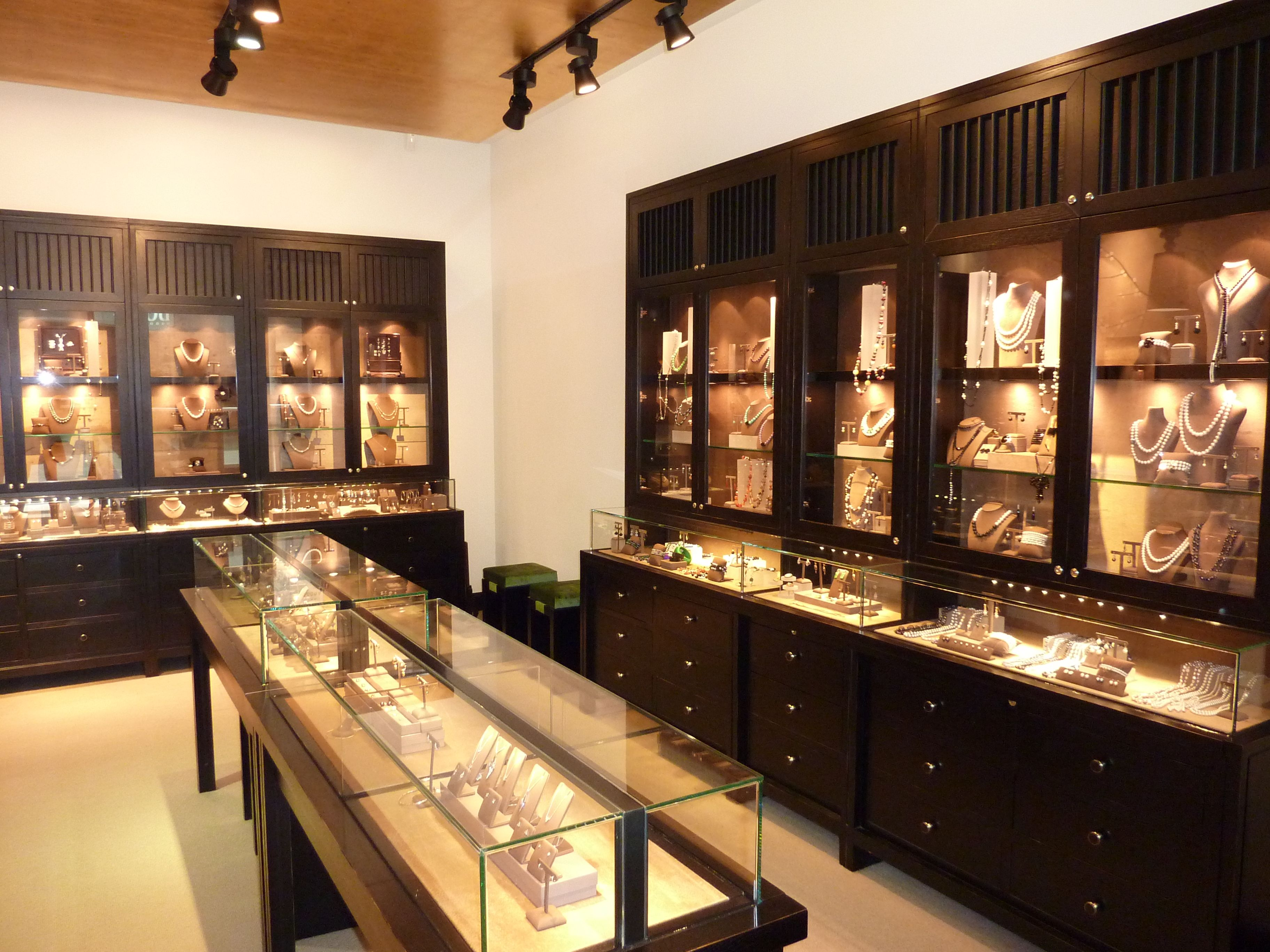 Display Cabinets Are Designed To Ear As Pieces Of Boudoir Furniture Brooke Aitken Design