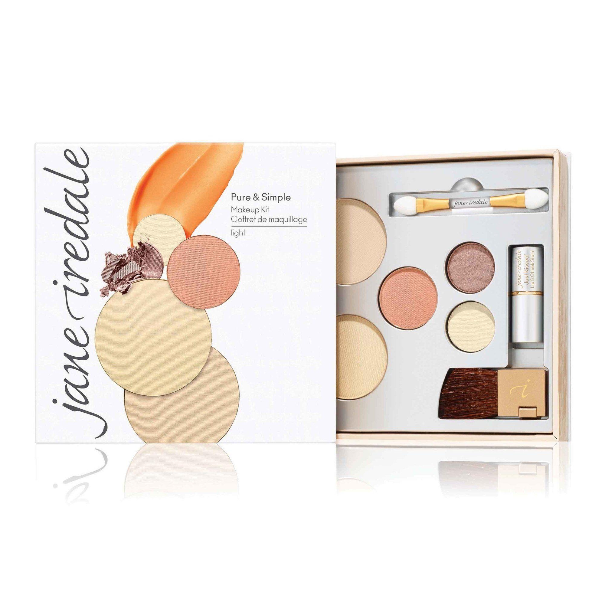 Light Jane Iredale Pure & Simple Makeup Kit Bella Cuore
