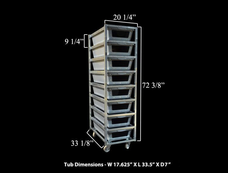 Reptile 0808 80w Freedom Breeder Reptile Rack Steel Cage Ball Python