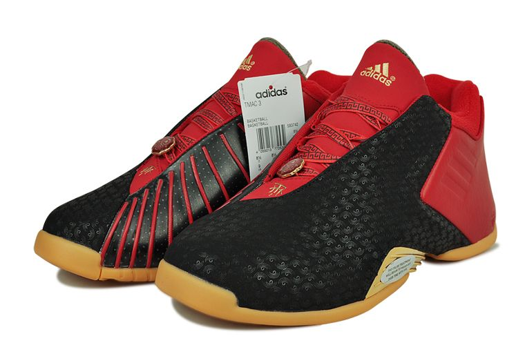 f83830fe2b7 ADIDAS T MAC 3 CHINESE NEW YEAR OF GOAT RED S83742  190 Basketball  Sneakers