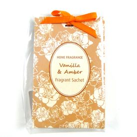 Home Fragrance Vanilla and Amber #Scented Sachet    #bright #dunelm