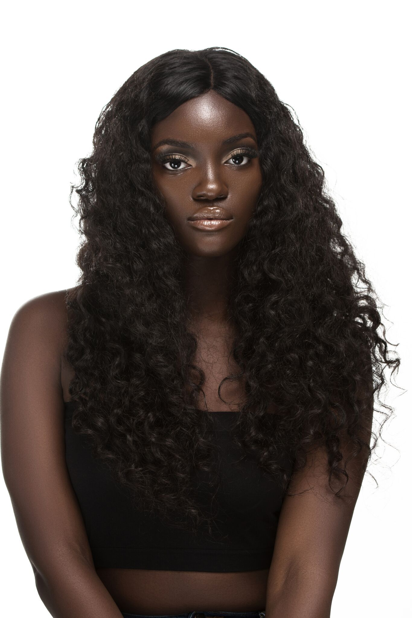 Chic Javore Virgin Indian Natural Curly Hair Extension 95 Chic