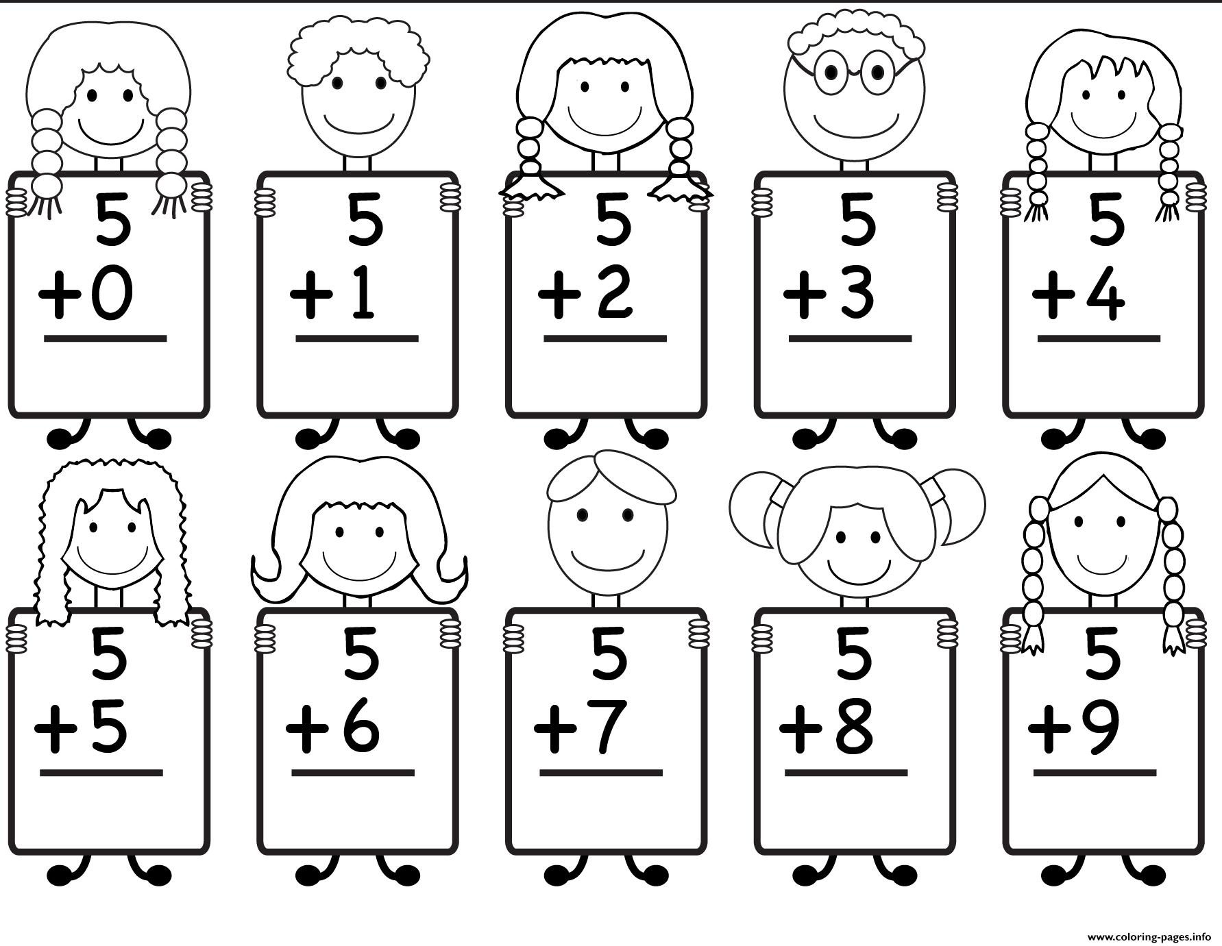 35 Amazing Kindergarten Math Worksheets Sample