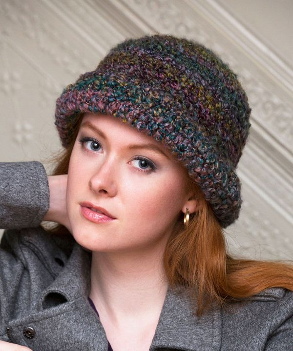 Free City Sophisticate Hat Crochet Pattern From Redheart