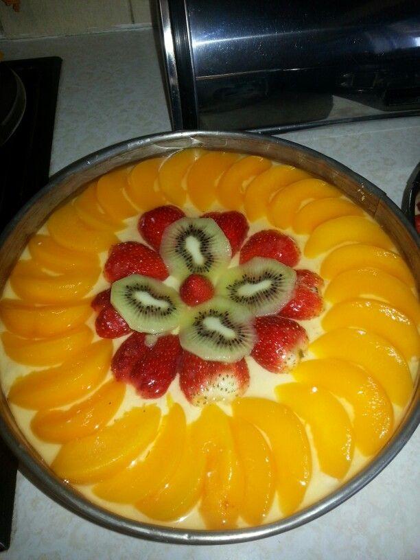 Cheesecake Fruit Decorating Ideas Cheesecake Desserts Cream