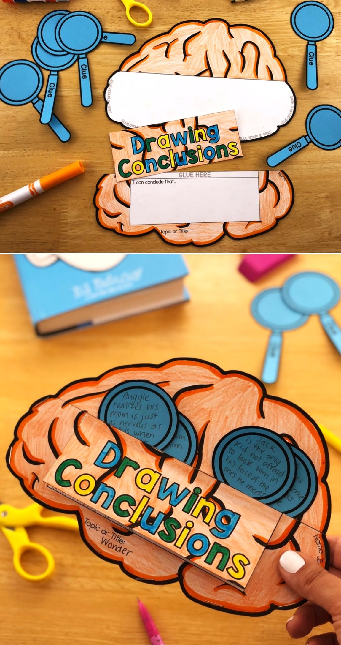 These Reading Crafts Make Teaching Students To Draw