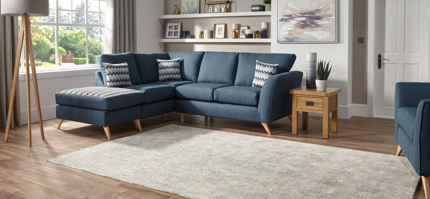 Scs Sofa Carpet Specialist Chaise House Interior Blue Sofa