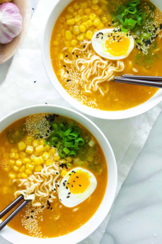Chicken Miso Ramen | Recipe | Recipes, Food, Food and drink