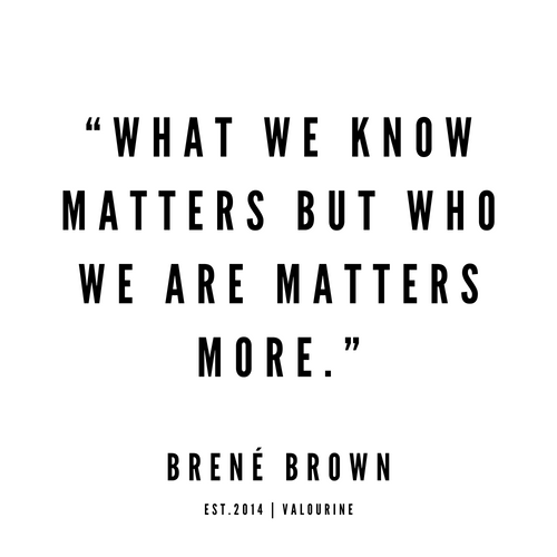 1   | Brene Brown Quotes | 190524 Mini Art Print by Quotes And Sayings