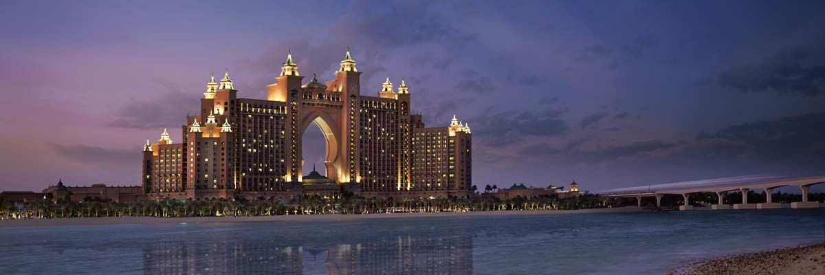 Atlantis The Palm أتلانتس النخلة Dubai Scenic Views Scenic
