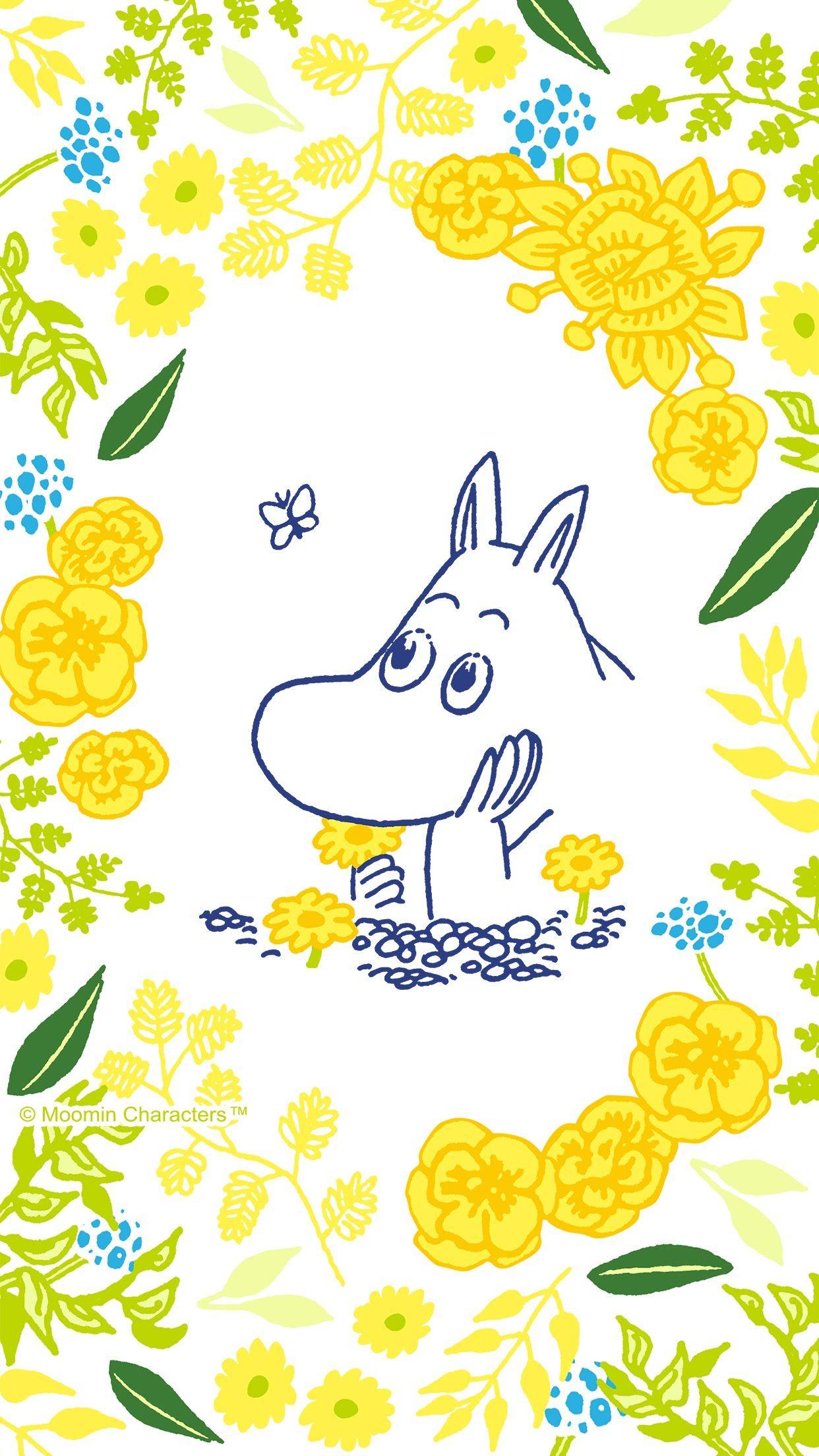 Mummitrolli おしゃれまとめの人気アイデア Pinterest Nataliyanikskaya ムーミン イラスト ムーミン 壁紙 花 イラスト