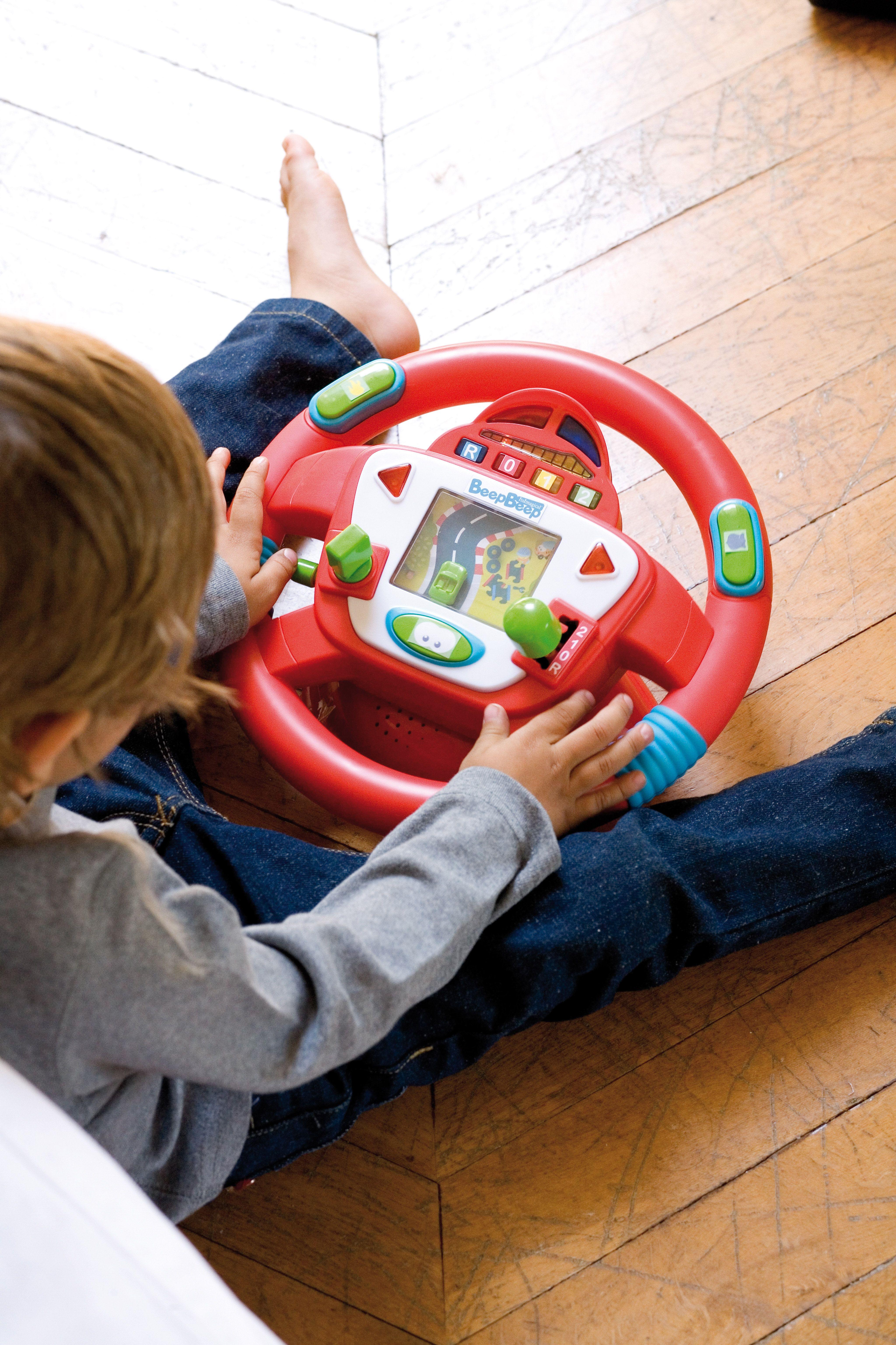 Volante Sonidos Beep Beep Beep Beep Toy Drive Fun