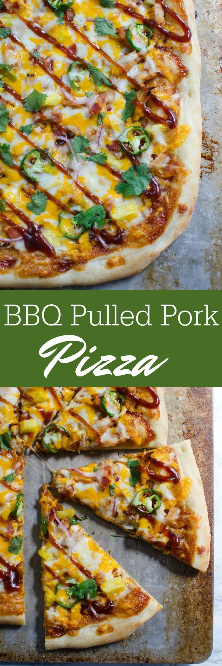 Bbq Pulled Pork Pizza Recipe Pulled Pork Pizza Pulled Pork Pizza Recipe Pizza Recipes