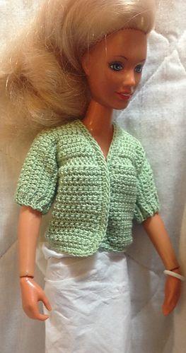 Crochet Barbie Sweater