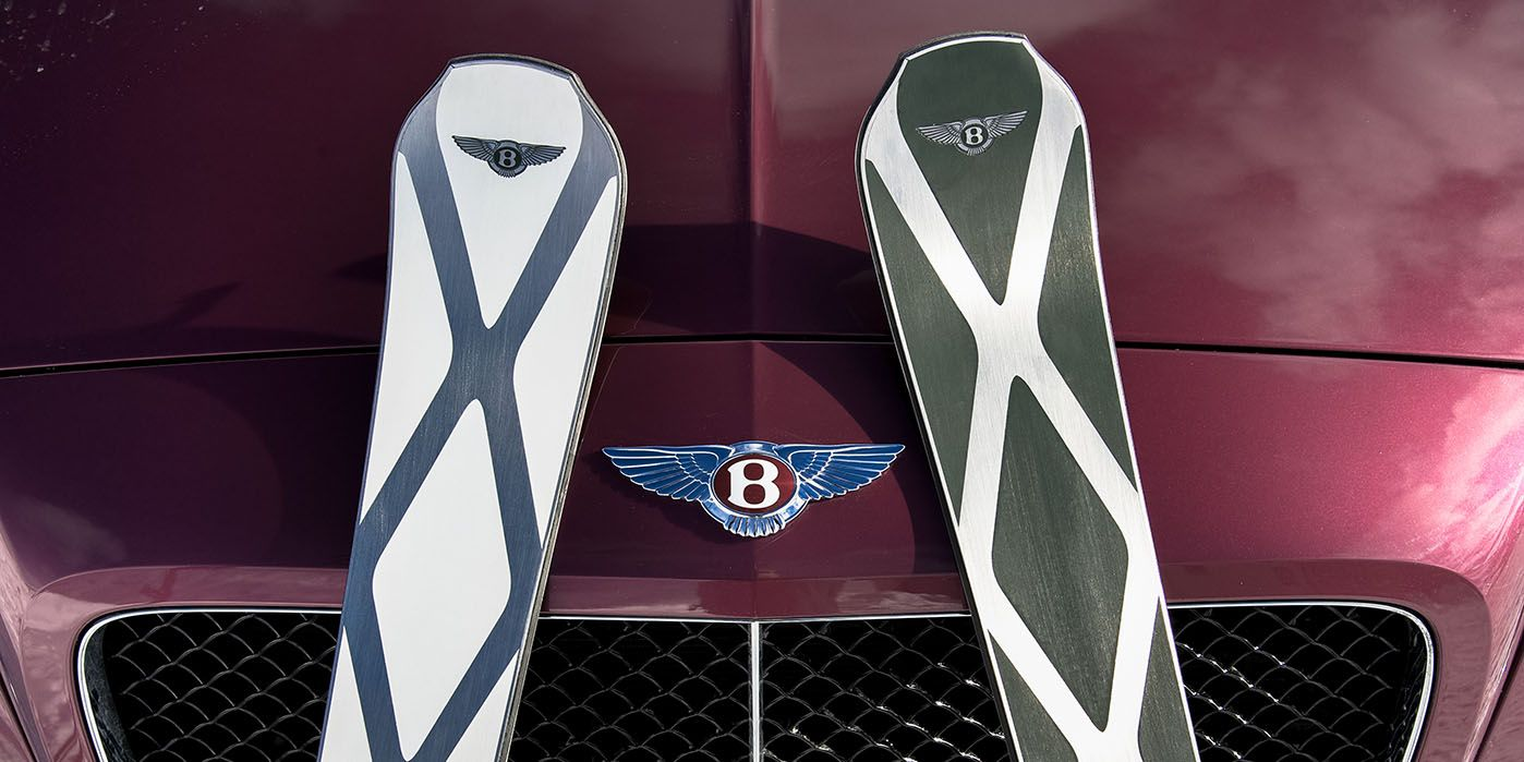 All Zai For Bentley Skis Are Hand Made By Skilled Craftsmen Using The Finest Materials Available Their Dynamic Lines And High T Bentley Bentley Design Skiing