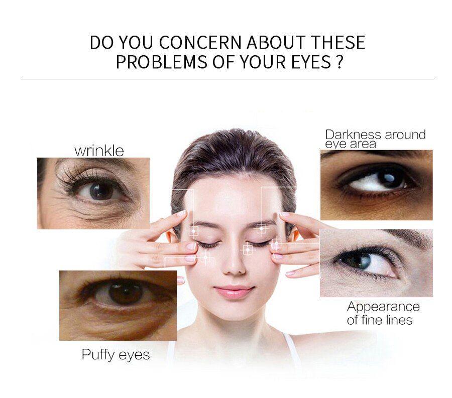 60Pcs Eye Mask Anti-Wrinkle Face Care Collagen Eye Masks Gel Moisturizing Remove Dark Circles...