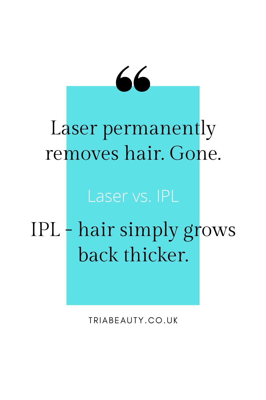 Laser Vs Ipl In 2020 Hair Removal Ipl Laser