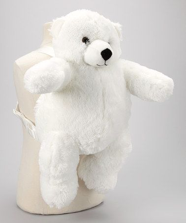 Take A Look At This White Polar Bear Backpack By Unipak