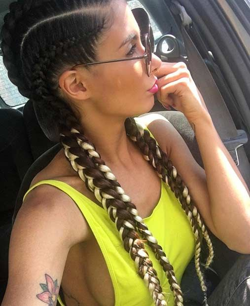 21 Trendy Braided Hairstyles To Try This Summer Braids Twists