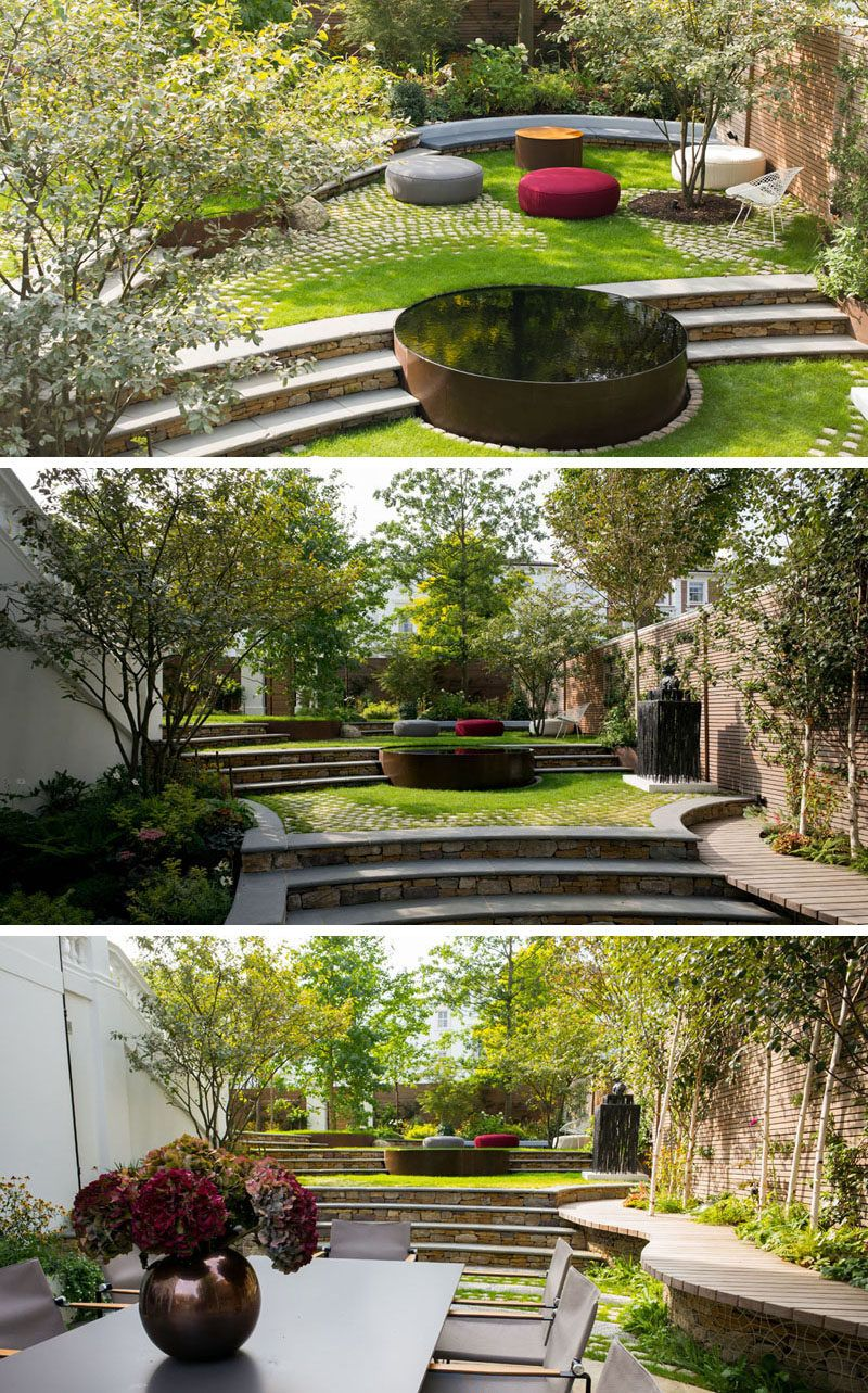 13 Multi-Level Yards To Get You Inspired For Backyard ... on 2 Level Backyard Ideas id=98719