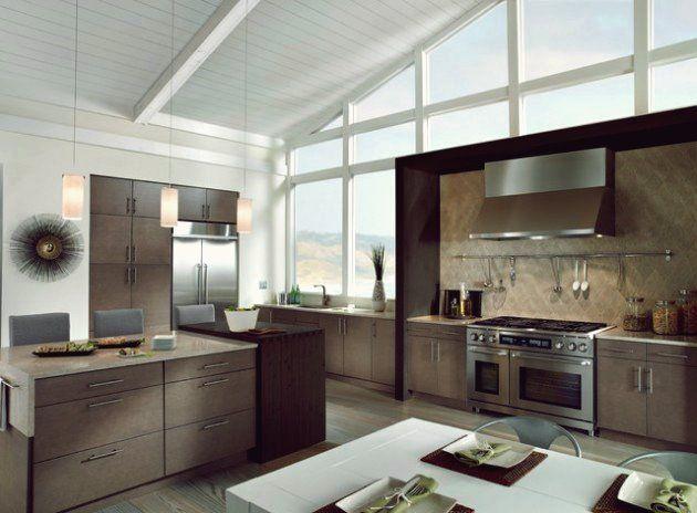 19 schlanke große offene küche design-ideen für alle, die