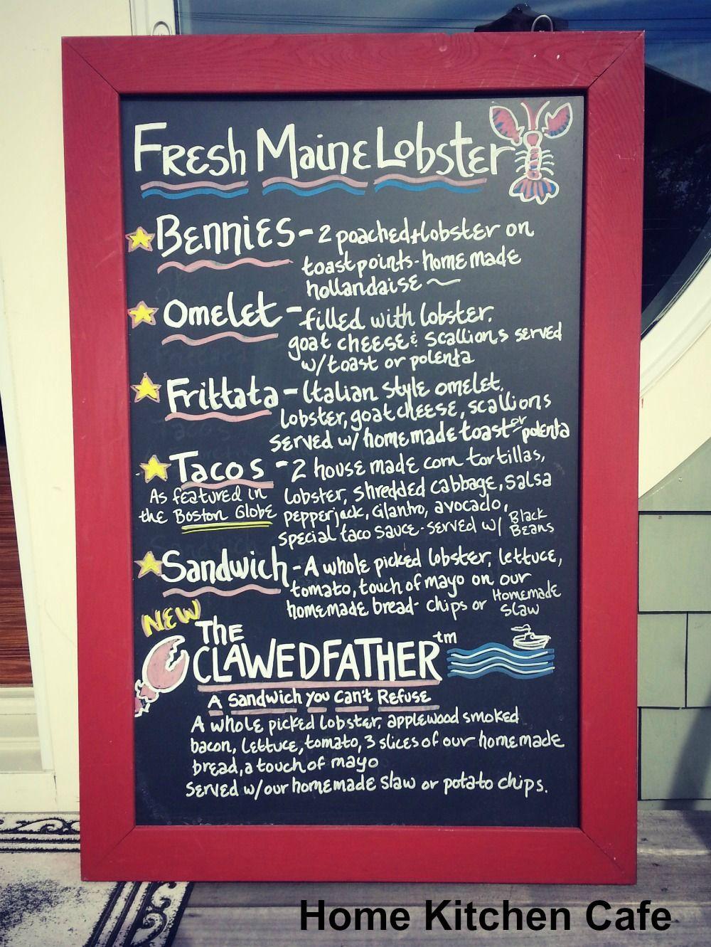 Home Kitchen Cafe Rockland Maine Menu