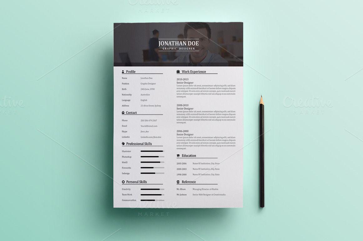 Resume  Cover Letter  Bonus  Mint Background Resume Cover
